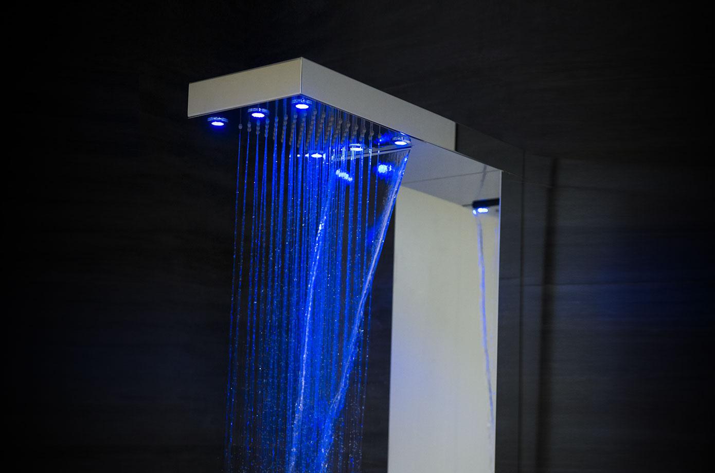 colonnes de douche t nzo. Black Bedroom Furniture Sets. Home Design Ideas