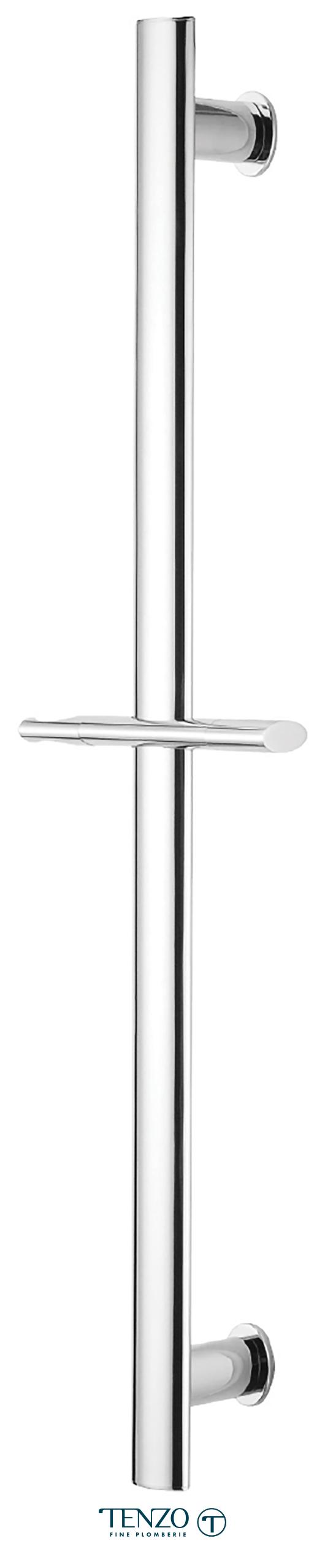 RD-02 - Rail de douche en laiton chrome
