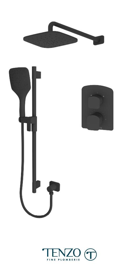 DEPB32-20114-MB - Shower kit, 2 functions