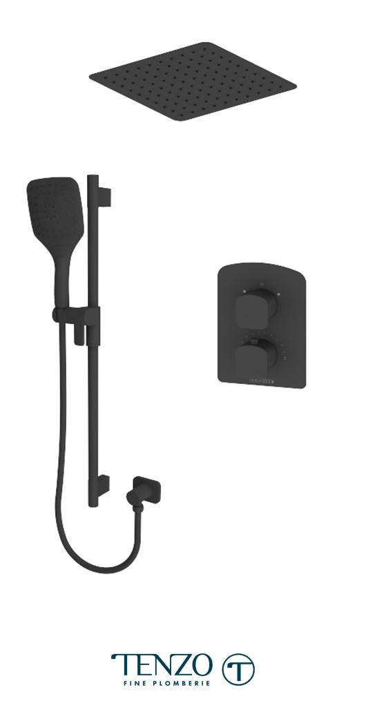 DET32-21164-MB - Shower kit, 2 functions