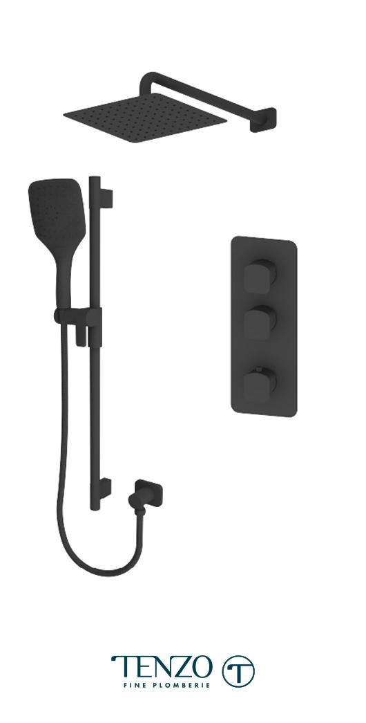 DET42-20111-MB - Shower kit, 2 functions