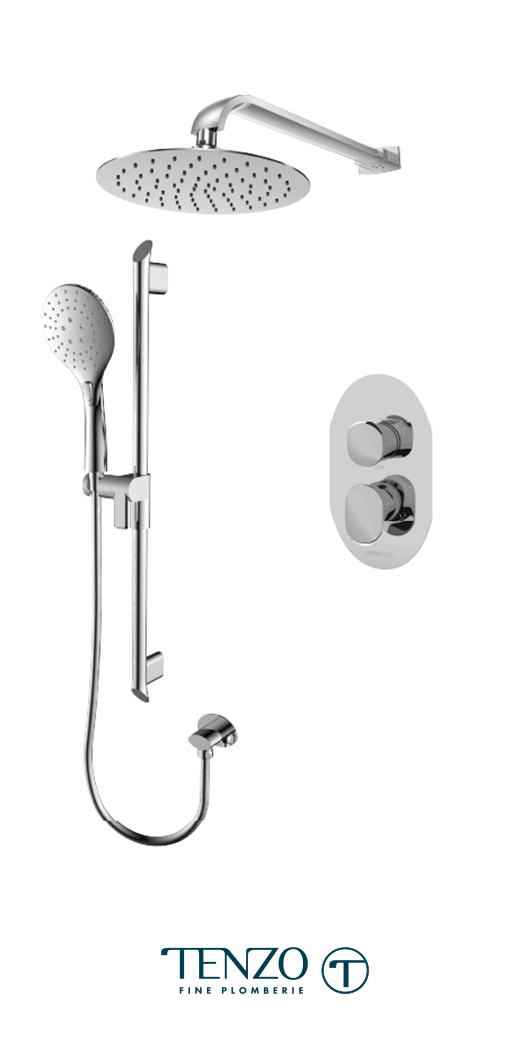 FLPB32-20111-CR - Shower kit, 2 functions