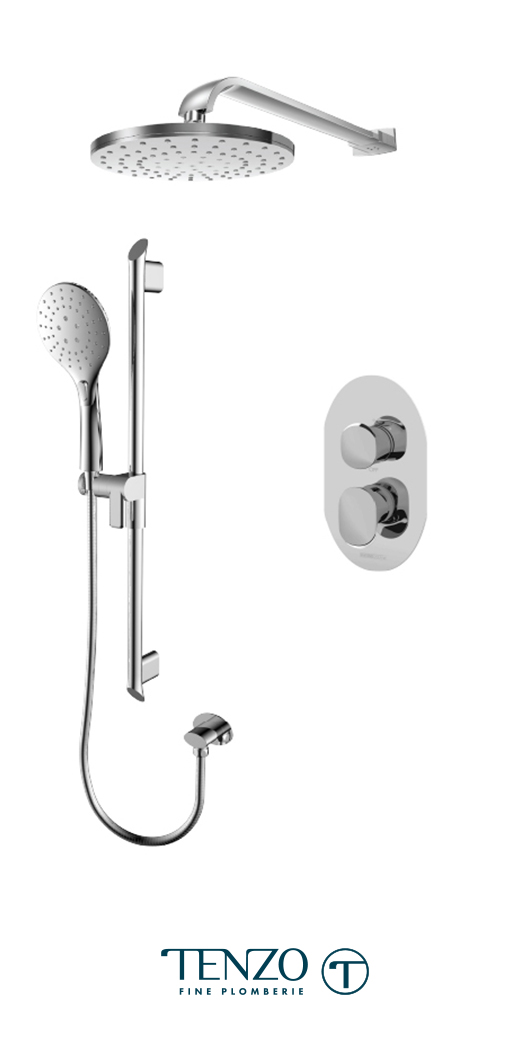 FLPB32-20114-CR - Shower kit, 2 functions