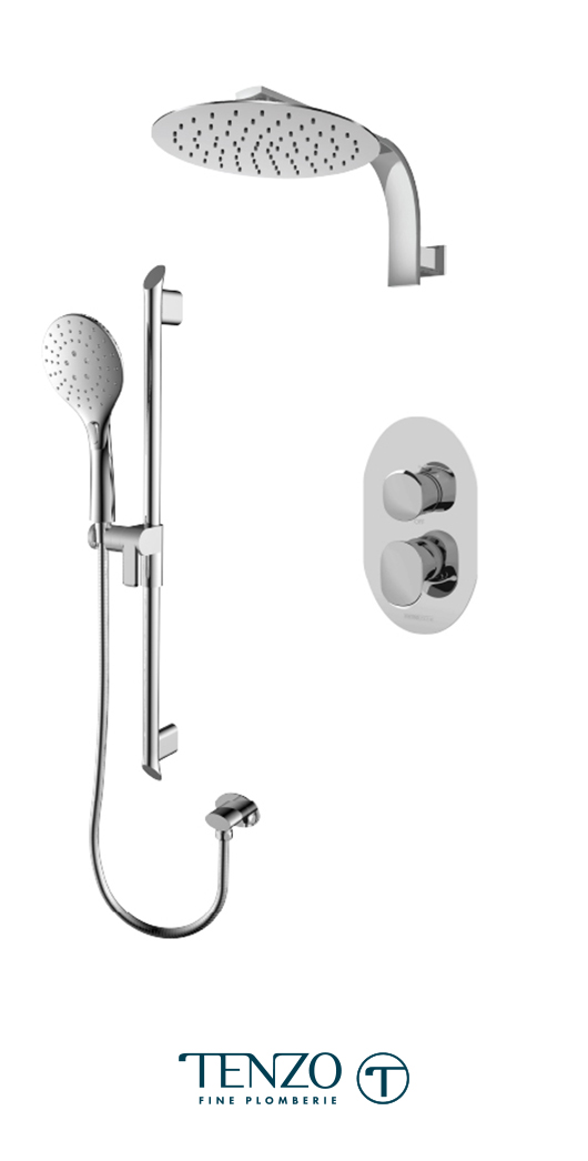FLPB32-20119-CR - Shower kit, 2 functions