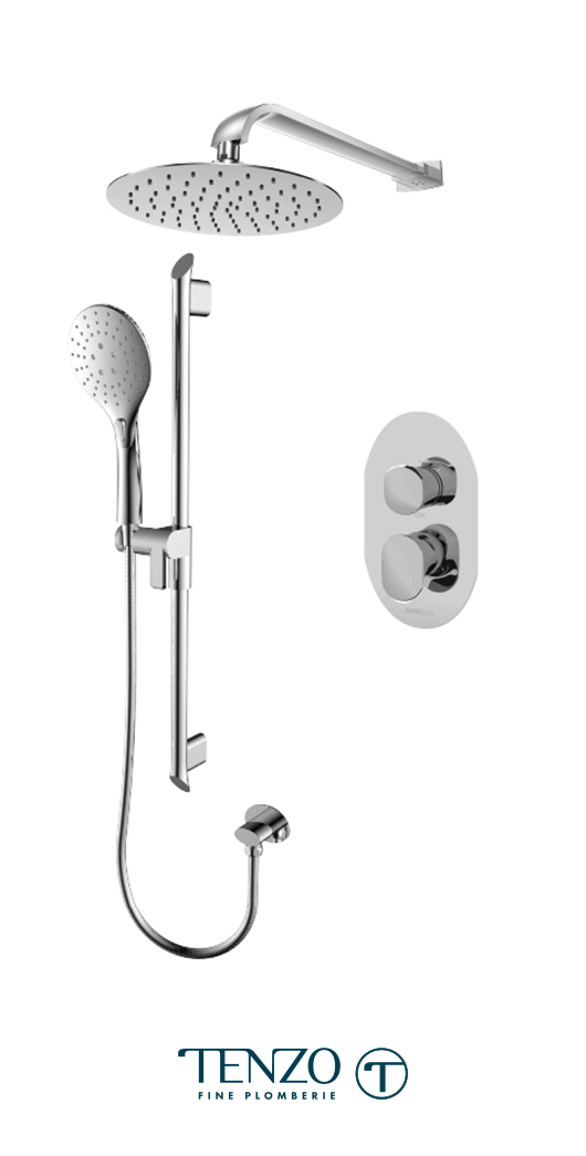 FLPB32-20311-CR - Shower kit, 2 functions