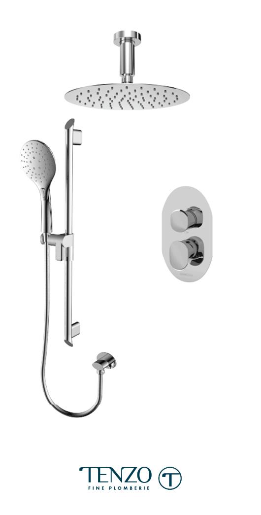 FLPB32-21131-CR - Shower kit, 2 functions
