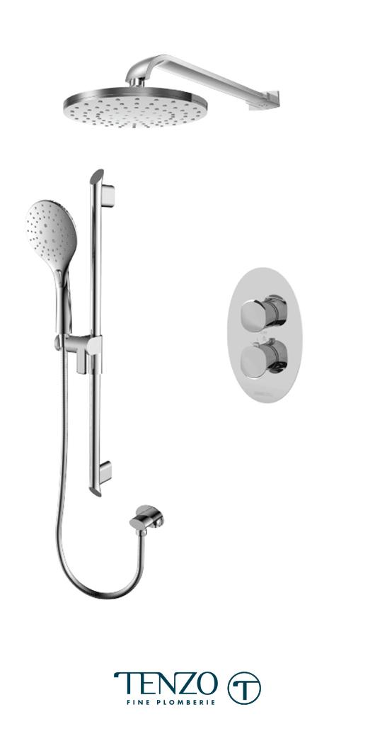 FLT32-20114-CR - Shower kit, 2 functions