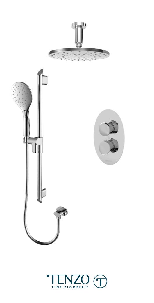 FLT32-21134-CR - Shower kit, 2 functions