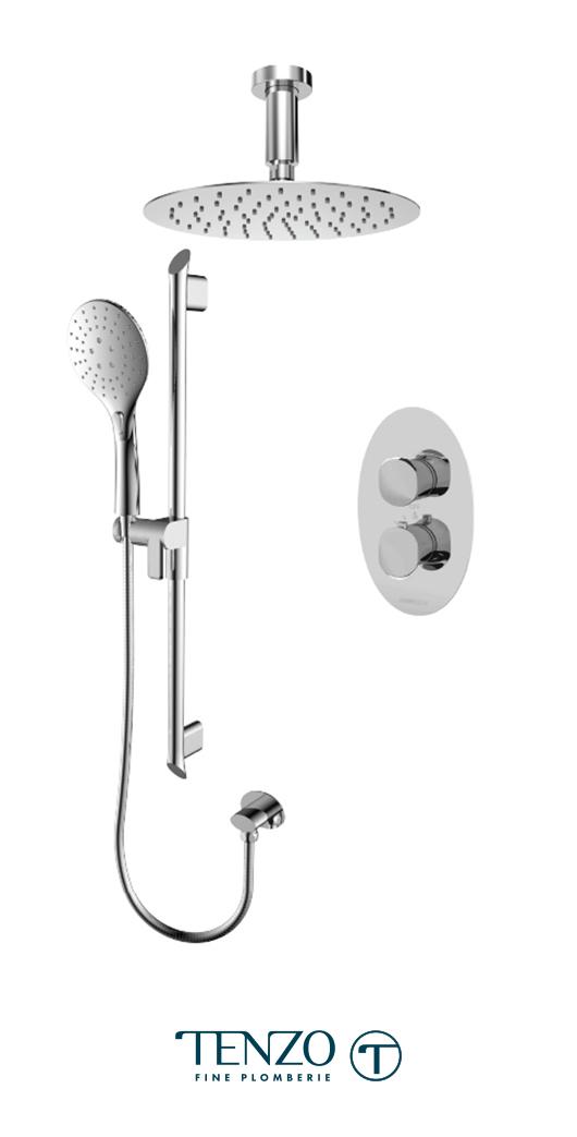 FLT32-21331-CR - Shower kit, 2 functions