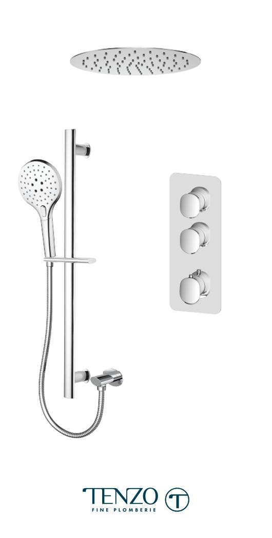 FLT42-21263-CR - Shower kit, 2 functions