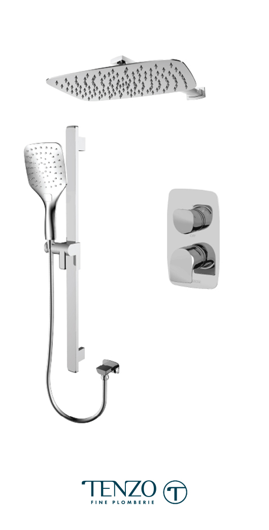NUPB32-20110-CR - Shower kit, 2 functions