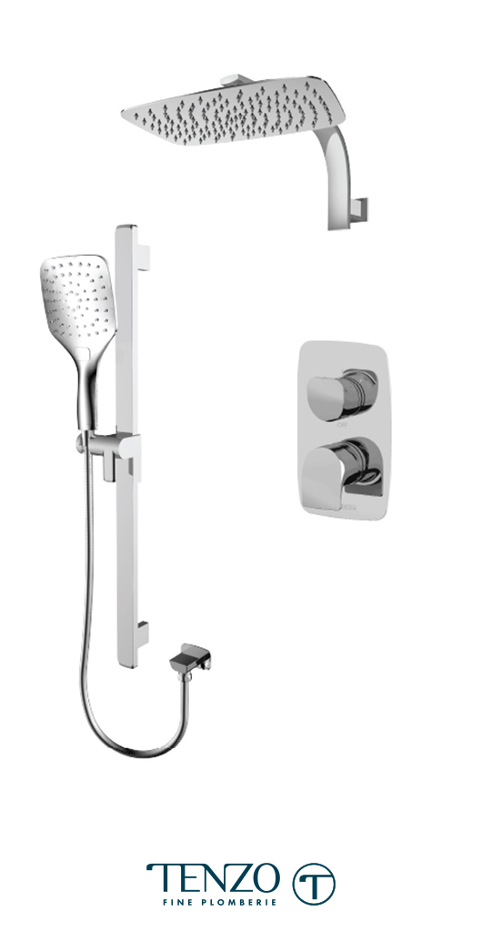 NUPB32-20119-CR - Shower kit, 2 functions