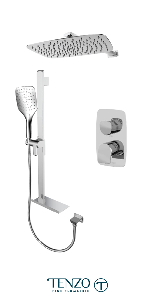 NUPB32-20310-CR - Shower kit, 2 functions