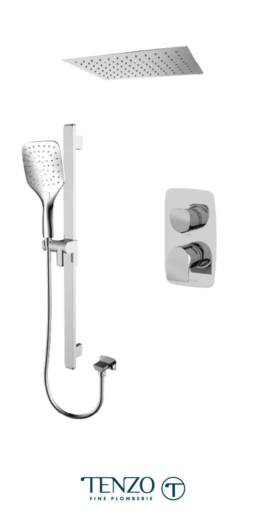 NUPB32-21167-CR - Shower kit, 2 functions