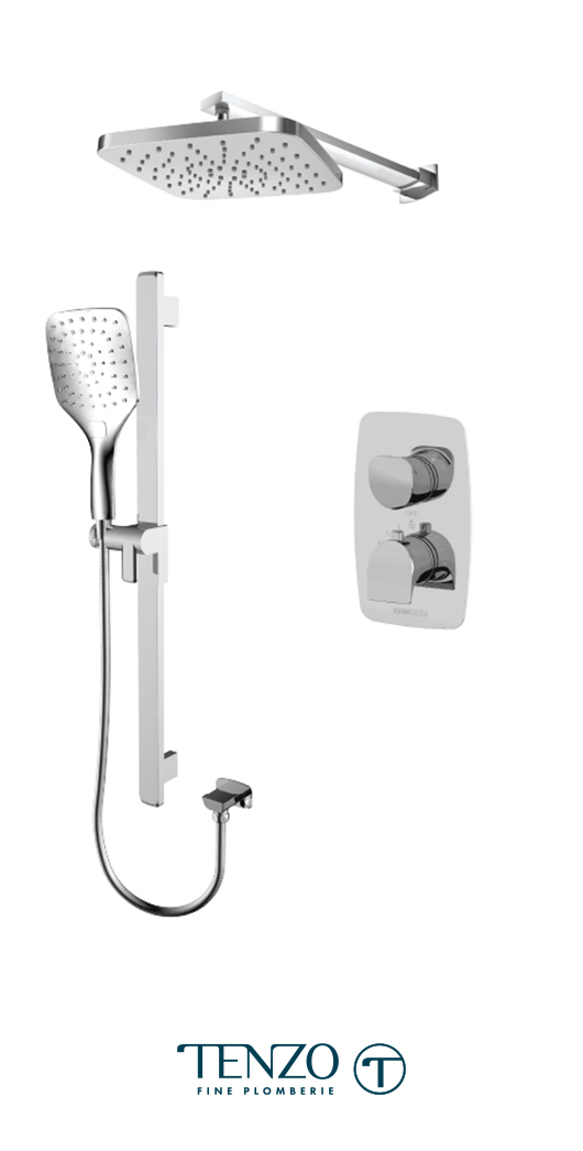 NUT32-20114-CR - Shower kit, 2 functions