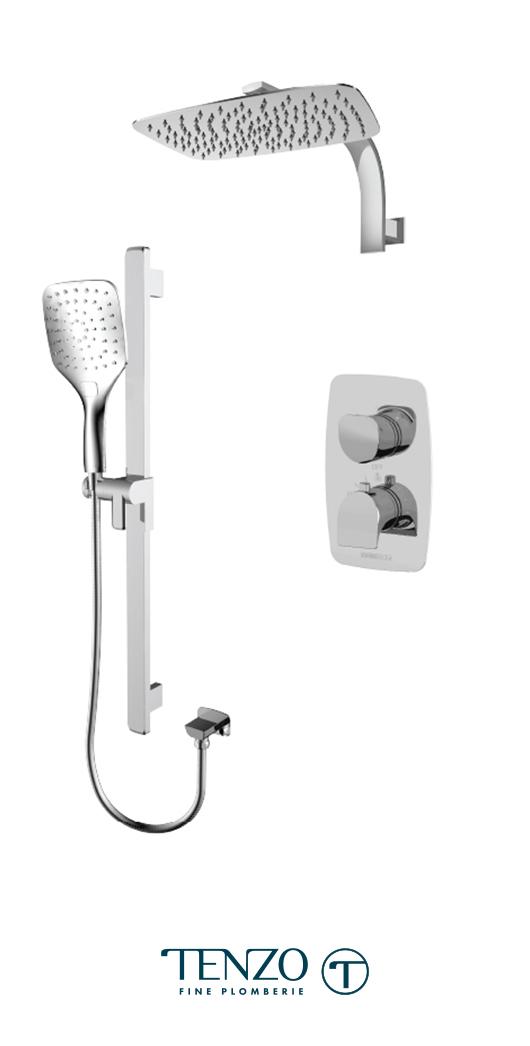 NUT32-20119-CR - Shower kit, 2 functions