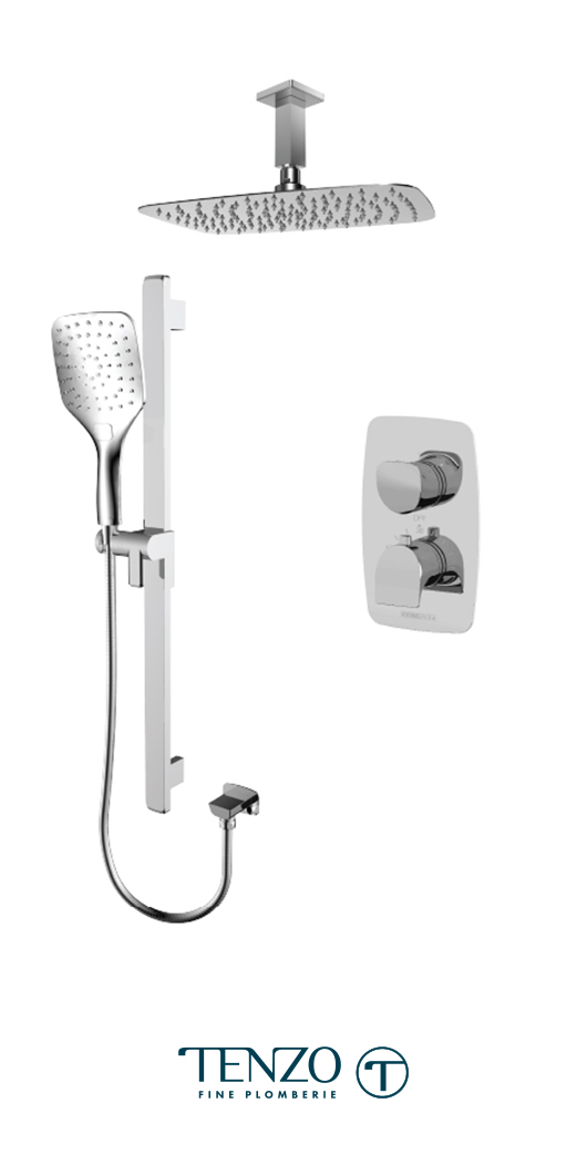 NUT32-21130-CR - Shower kit, 2 functions