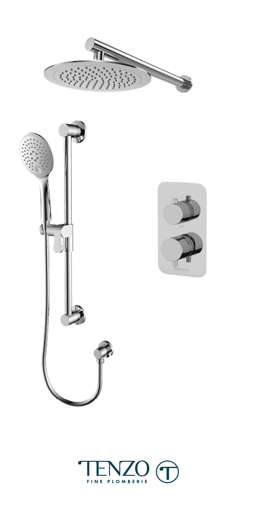 RUPB32-20114-CR - Shower kit, 2 functions
