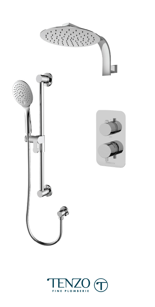 RUPB32-20119-CR - Shower kit, 2 functions
