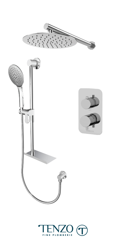 RUPB32-20311-CR - Shower kit, 2 functions