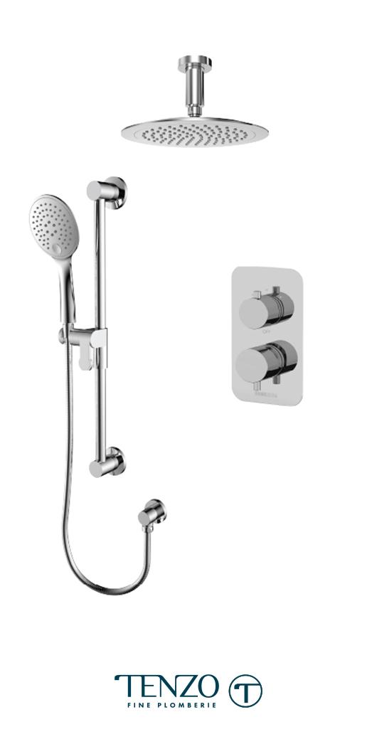 RUPB32-21134-CR - Shower kit, 2 functions