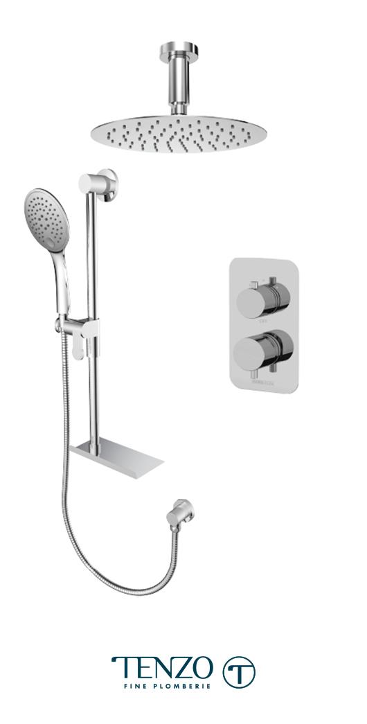 RUPB32-21331-CR - Shower kit, 2 functions