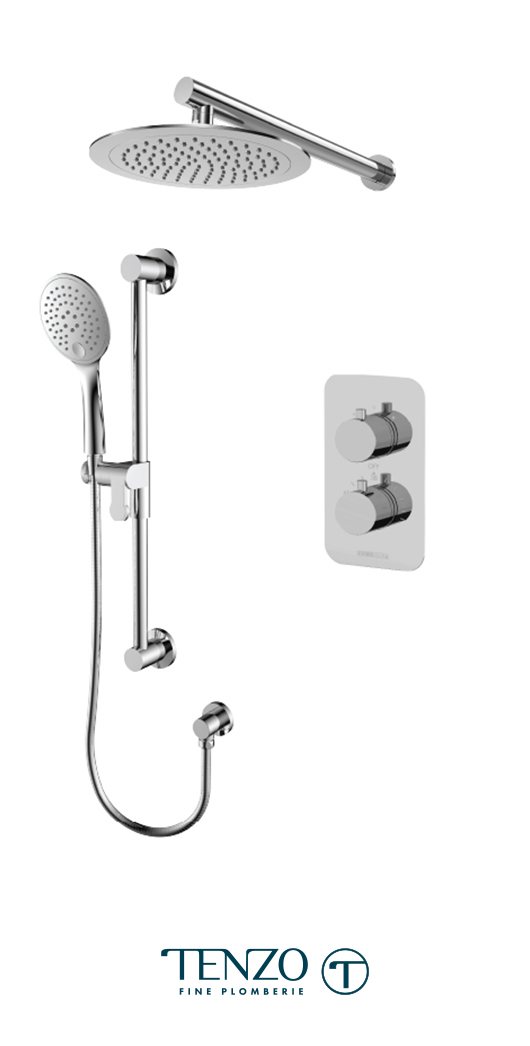 RUT32-20114-CR - Shower kit, 2 functions