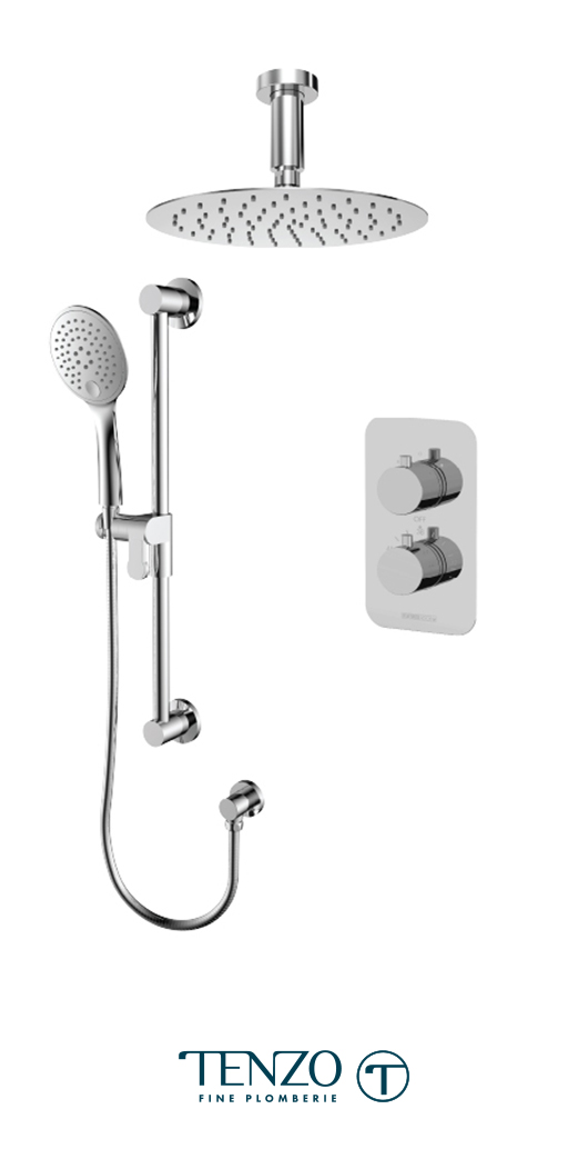 RUT32-21131-CR - Shower kit, 2 functions