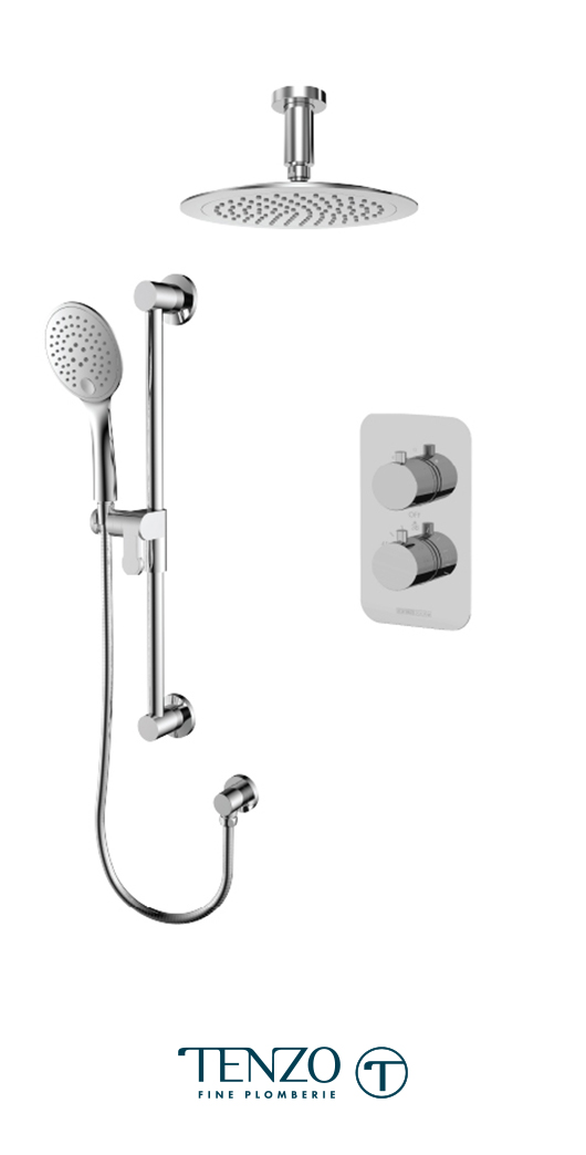 RUT32-21134-CR - Shower kit, 2 functions