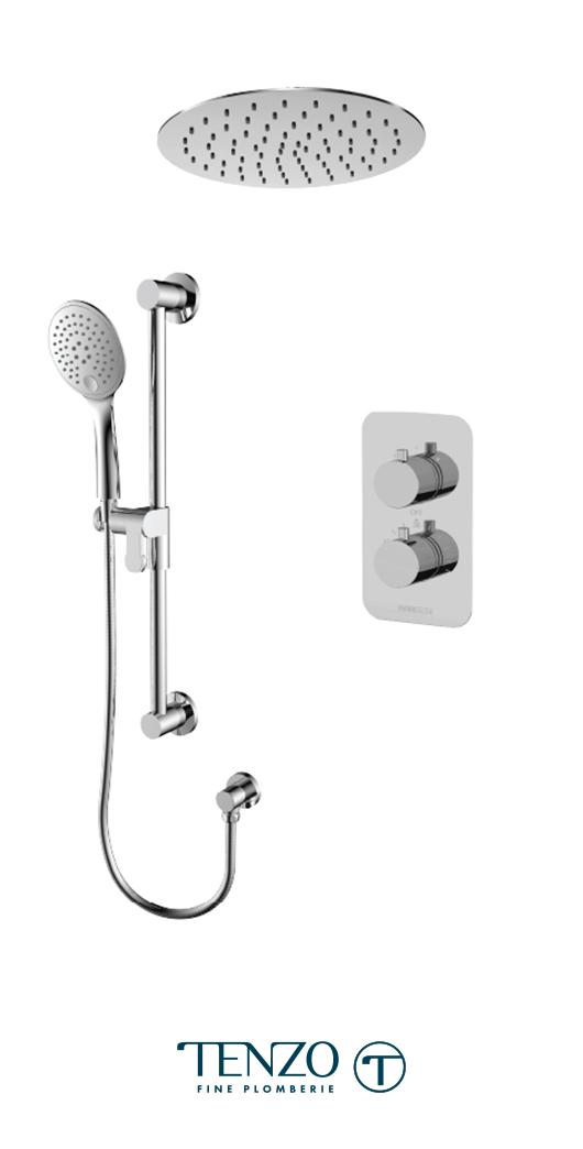 RUT32-21163-CR - Shower kit, 2 functions