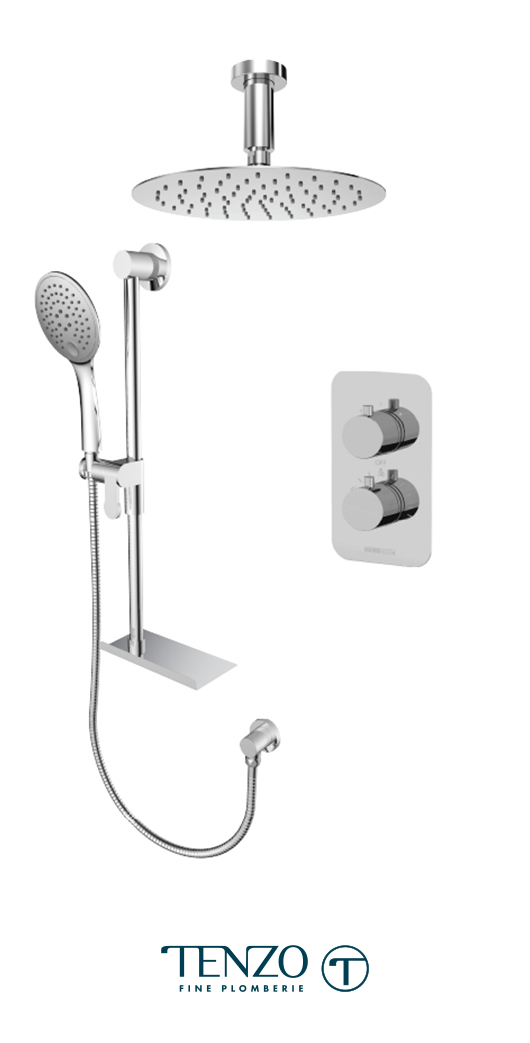 RUT32-21331-CR - Shower kit, 2 functions
