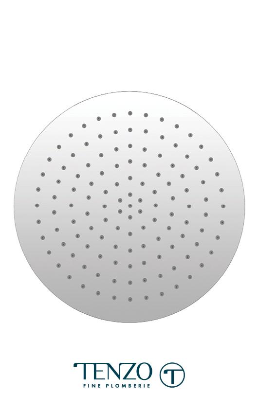 CSH-12-R-CR - Ceiling shower head round 30x30cm [12po] chrome