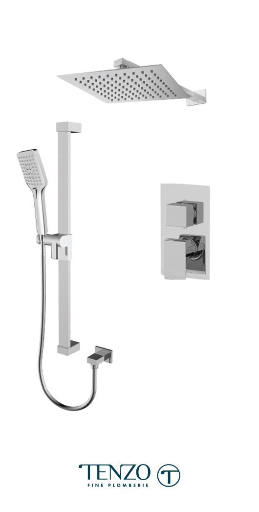 SLPB32-20111-CR - Shower kit, 2 functions