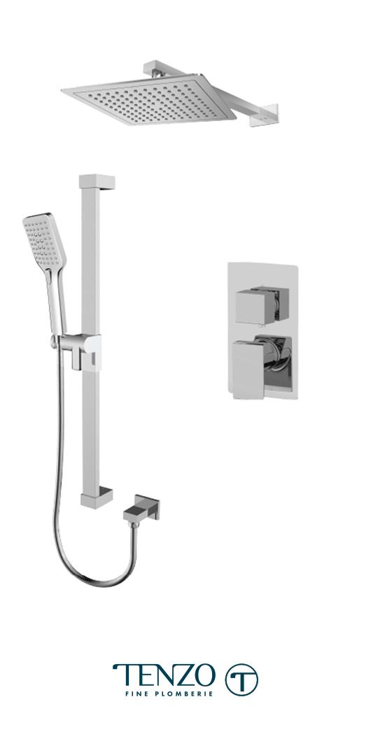 SLPB32-20114-CR - Shower kit, 2 functions
