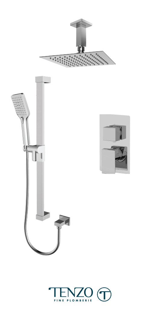SLPB32-21131-CR - Shower kit, 2 functions