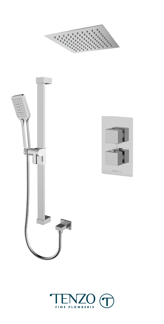 SLT32-21161-CR - Shower kit, 2 functions