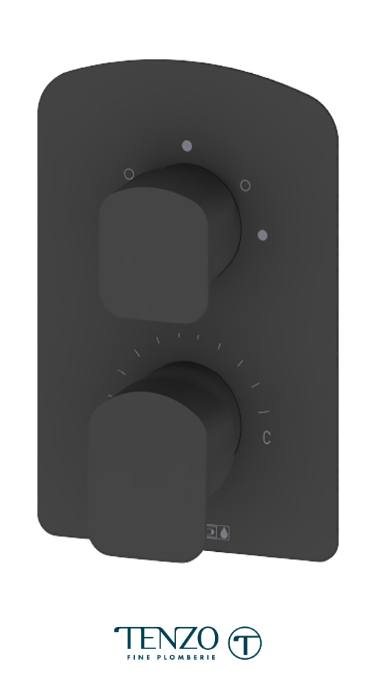 DEPB33-MB - Valve T-Box Delano 3 fonctions pres bal fini noir mat